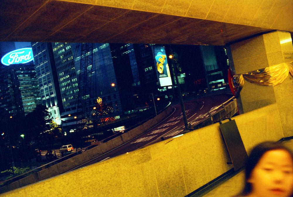 Nightlife. Hong Kong.