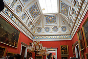 The State Hermitage Museum. A museum of art and culture in Saint Petersburg, Russia. The largest and oldest museum in the world, it was founded in 1754 by Catherine the Great and has been open to the public since 1852.