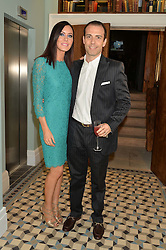 LINZI STOPPARD and WILL STOPPARD at the Grand opening of Library - a new members club at 112 St Martin's Lane, London on 25th June 2014.