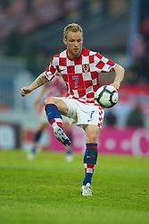 OSIJEK, CROATIA - Sunday, May 23, 2010: Croatia's Ivan Rakitic in action against Wales during the International Friendly match at the Stadion Gradski Vrt. (Pic by David Rawcliffe/Propaganda)