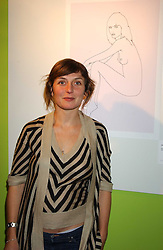 Artist NATASHA LAW sister of actor Jude Law at a party to celebrate the launch of FashionArt.com held at 51 Frith Street, London on 7th December 2005.<br /><br />NON EXCLUSIVE - WORLD RIGHTS