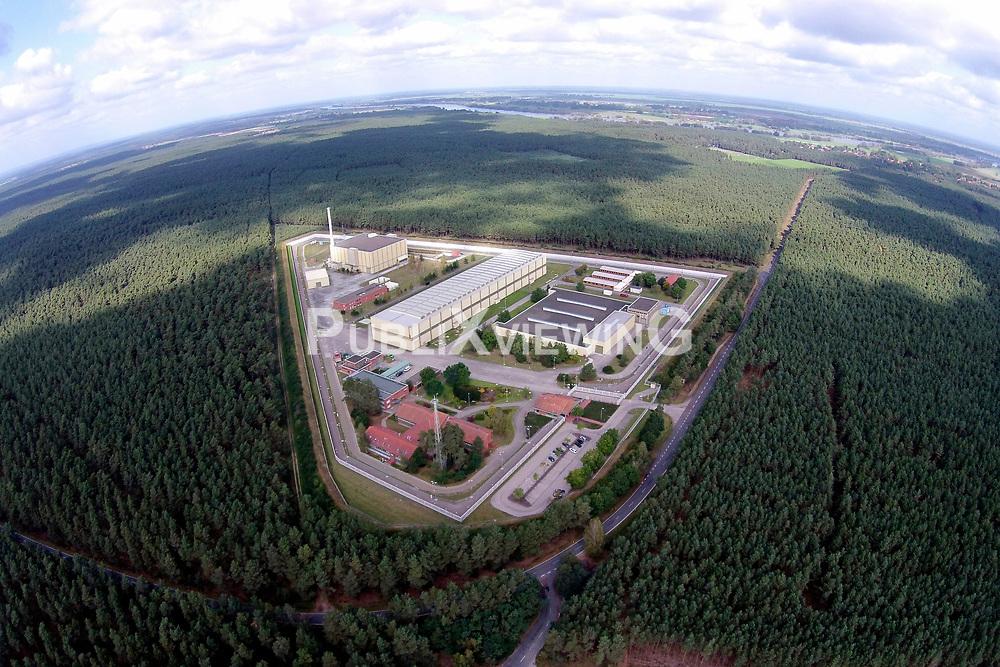 Luftaufnahme des Zwischenlagers f&uuml;r hochradioaktiven Atomm&uuml;ll in Gorleben.<br /> <br /> Ort: Gorleben<br /> Copyright: unbekannt<br /> Quelle: PubliXviewinG