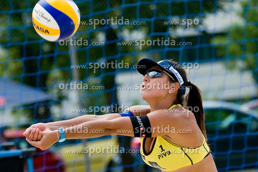Maria Antonelli of Brasil at A1 Beach Volleyball Grand Slam tournament of Swatch FIVB World Tour 2010, on July 28, 2010 in Klagenfurt, Austria. (Photo by Matic Klansek Velej / Sportida)