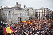 Protest against Catalan independence