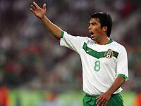 Pavel Pardo<br /> <br /> Fussball WM 2006 Mexiko - Angola<br /> Mexico - Angola<br /> Norway only