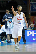 DESCRIZIONE : Kaunas Lithuania Lituania Eurobasket Men 2011 Quarter Final Round Spagna Slovenia Spain Slovenia<br /> GIOCATORE : Juan Carlos Navarro<br /> CATEGORIA : esultanza<br /> SQUADRA : Spagna Slovenia Spain Slovenia<br /> EVENTO : Eurobasket Men 2011<br /> GARA : Spagna Slovenia Spain Slovenia<br /> DATA : 14/09/2011<br /> SPORT : Pallacanestro <br /> AUTORE : Agenzia Ciamillo-Castoria/M.Metlas<br /> Galleria : Eurobasket Men 2011<br /> Fotonotizia : Kaunas Lithuania Lituania Eurobasket Men 2011 Quarter Final Round Spagna Slovenia Spain Slovenia<br /> Predefinita :