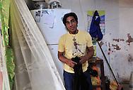 Luis Soto at his home at  Ventanilla