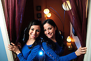 Martha and Silvia Romero are twin sister business partners and owners of Azul Holisitc Spa, a West Loop boutique offering deluxe massages, organic skin care, body treatments and healing therapies. Tuesday, February 12th, 2013. © 2013 Brian J. Morowczynski ViaPhotos