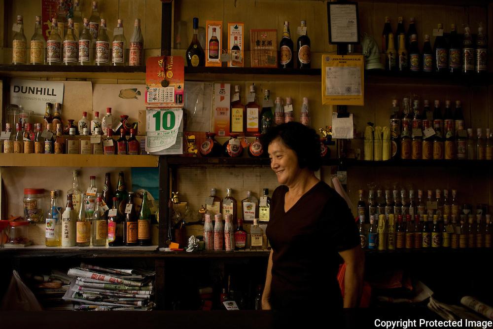 bar along Jalan Kampung Jawa