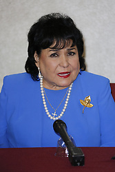 "BURBANK, CA - JUNE 1: Carmen Salinas attends Aventurera USA Press Conference at The Holiday Inn Burbank Media Center to promote the Mexican Theater Play ""Aventurera USA"", in Burbank, California USA. 2017 June 2. Byline, credit, TV usage, web usage or linkback must read SILVEXPHOTO.COM. Failure to byline correctly will incur double the agreed fee. Tel: +1 714 504 6870."