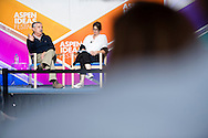Thomas Friedman speaks during the 2016 Aspen Ideas Festival in Aspen, CO. ©Brett Wilhelm