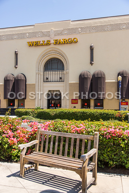 The Historic Wells Fargo Bank Building on Route 66 in Azusa