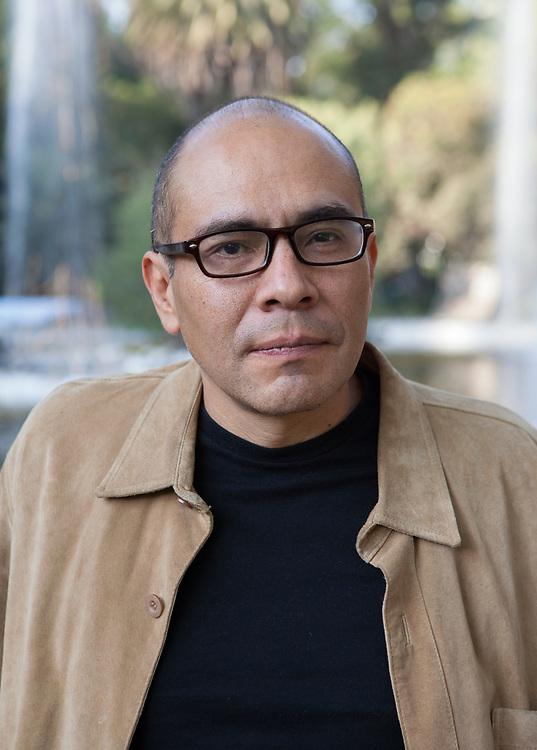 """Mexico City, Mexico, January 10, 2018. Yuri Herrera, Mexican writer, the author of, among the other books, """"Trabajos del reino"""" (Periférica 2003) and """"La transmigración de los cuerpos"""" ((Periférica 2003). In 2003 he won with """"Trabajos del reino"""" the Binacional de Novela Border of Words Prizwrize, and in 2009 in Spain the """"Otras voces, otros ámbitos"""" Prize. Considered to be one of the most promising authors of Latin American fiction, Yuri Herrera currently teaches Latin American Literature at Tulane University, New Orleans.<br /> <br /> Città del Messico, Messico, 10 Gennaio 2018. Yuri Herrera, scrittore Messicano autore tra gli altri libri di: """"La ballata del re di denari"""" (La Nuova Frontiera 2011) e """"La trasmigrazione dei corpi"""" (Feltrinelli 2014). Con """"La ballata del re di denari"""" ha vinto, nel 2003, il premio Binacional de Novela Border of Words, e nel 2009 in Spagna il premio """"Otras voces, otros ámbitos"""". Considerato uno degli autori più promettenti della narrativa latinoamericana, Yuri Herrera attualmente insegna Letteratura Latino Americana alla Tulane University, New Orleans."""