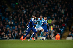 15.03.2016, Etihad Stadium, Manchester, ENG, UEFA CL, Manchester City vs Dynamo Kiew, Achtelfinale, Rueckspiel, im Bild veloso miguel, fernando // during the UEFA Champions League Round of 16, 2nd Leg match between Manchester City and FC Dynamo Kyiv at the Etihad Stadium in Manchester, Great Britain on 2016/03/15. EXPA Pictures © 2016, PhotoCredit: EXPA/ Pressesports/ MARTIN RICHARD<br /> <br /> *****ATTENTION - for AUT, SLO, CRO, SRB, BIH, MAZ, POL only*****
