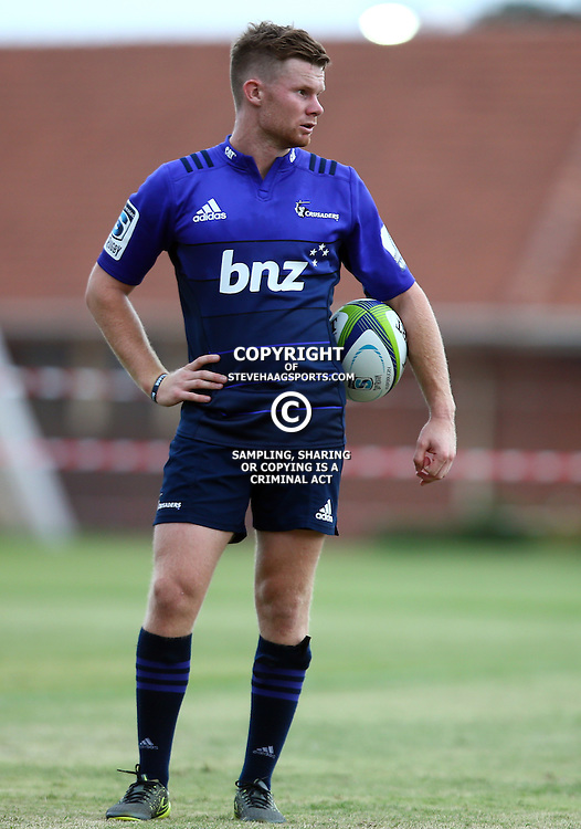DURBAN, SOUTH AFRICA, 24,MARCH, 2016 - Mitchell Drummond during The Crusaders training session  at Northwood School Durban North in Durban and the Crusaders Media conference, South Africa. (Photo by Steve Haag)<br /> <br /> images for social media must have consent from Steve Haag