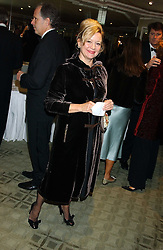 KAY SAATCHI at the Chain of Hope 10th Anniversary Ball held at The Dorchester, Park Lane, London on 1st November 2005.<br />