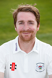 Tom Smith of Gloucestershire Cricket poses for a headshot in the County Championship kit - Mandatory byline: Rogan Thomson/JMP - 04/04/2016 - CRICKET - Bristol County Ground - Bristol, England - Gloucestershire County Cricket Club Media Day.