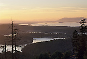 Sunset, San Juan Islands, Washington
