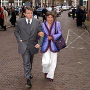 Mattheus Passion 2004 Naarden, Piet Hein Donner + vrouw