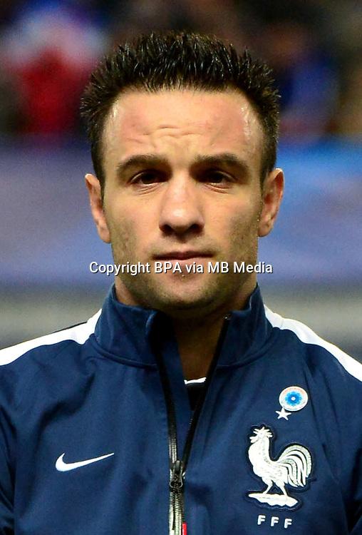 Uefa Euro FRANCE 2016 - <br /> France National Team - <br /> Mathieu Valbuena