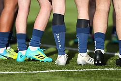 Bristol Bears u18 socks seen prior to kick off  - Mandatory by-line: Arron Gent/JMP - 12/01/2020 - RUGBY - Allianz Park - London, England - Saracens U18 v Bristol Bears U18 - Premiership U18 Academy