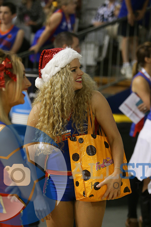 20/12/2014 NBL Adelaide 36ers vs Cairns Taipans at the Adelaide Arena. Photo by Kelly Barnes/AllStar Photos
