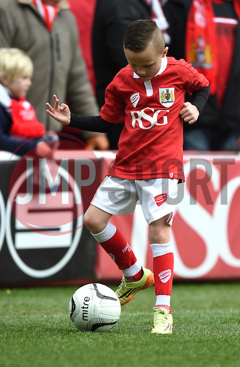 Mascot at Ashton Gate for the Sky Bet League One game between Bristol City and Rochdale on 28 February 2015 in Bristol, England - Photo mandatory by-line: Paul Knight/JMP - Mobile: 07966 386802 - 28/02/2015 - SPORT - Football - Bristol - Ashton Gate Stadium - Bristol City v Rochdale - Sky Bet League One