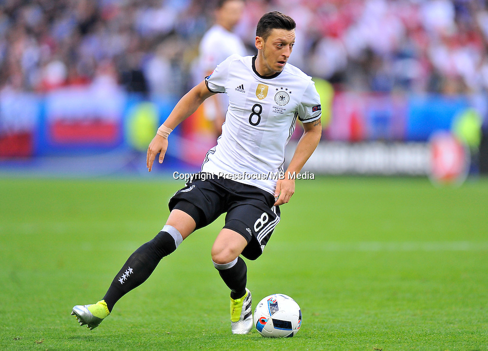 2016.06.16 Saint-Denis<br /> Football UEFA Euro 2016 group C game between Poland and Germany<br /> Mesut Ozil<br /> Credit: Norbert Barczyk / PressFocus