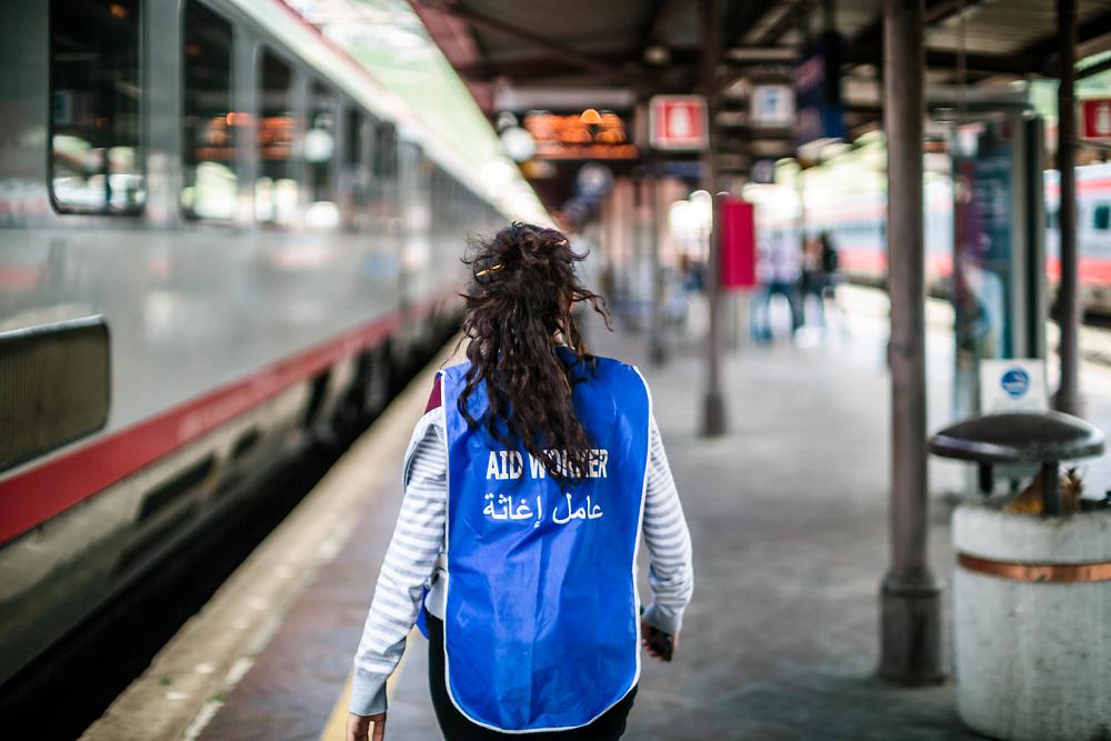 05 MAY 2016 - Bolzano - Stazione ferroviaria.