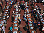 The 16th Annual Chess-in-the-Park Rapid Open at Bethesda Terrace in Central Park.