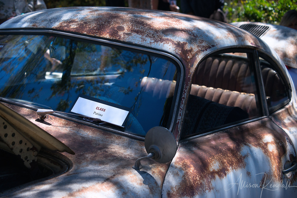 Scenes and details from the 2015 Carmel-by-the-Sea Concours on the Avenue vintage automotive event, held during Monterey Car Week in Monterey, California