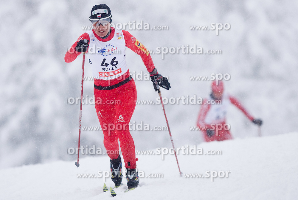 Sylwia Jaskowiec of Poland at Ladies 1.4 km Free Sprint Competition of Viessmann Cross Country FIS World Cup Rogla 2009, on December 19, 2009, in Rogla, Slovenia. (Photo by Vid Ponikvar / Sportida)