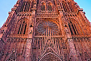 April 22, 2014<br /> Cathédrale Notre Dame de Strasbourg, a Gothic style Roman Catholic Cathedral built between 1015 and 1439, it was the tallest building in the world until 1874. Strasbourg, France.<br /> ©2014 Mike McLaughlin<br /> www.mikemclaughlin.com<br /> All Rights Reserved