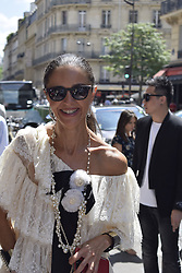 July 3, 2018 - Paris.Jb1_4687.Jpg.Jb1_4688.Jpg, France, France - NEWS : Fashion week Alexis Mabille - Paris - 07/03/2018 (Credit Image: © Panoramic via ZUMA Press)