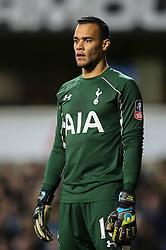 Michel Vorm of Tottenham Hotspur - Mandatory byline: Jason Brown/JMP - 07966386802 - 10/01/2016 - FOOTBALL - White Hart Lane - London, England - Tottenham v Leicester City - The Emirates FA Cup