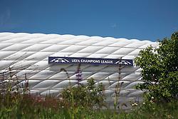 18.05.2012, Allianz Arena, Muenchen, GER, UEFA CL, Finale, Vorberichte, im Bild Allianz Arena München // preliminary reports vor the UEFA CL final on picture stadium allianz arena, munich, GER, on 2012/05/18. EXPA Pictures © 2012, PhotoCredit: EXPA/Gunn Mitchell