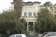 Golomb House, The Hagana Museum, Tel Aviv, Israel, exhibits the history of the forming of the state of Israel the war of independence period