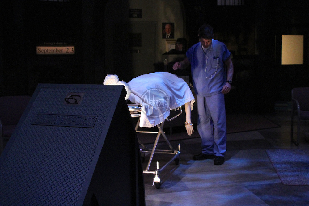 "ACT World Premier production of ""Assisted Living"" by Katie Forgette at the Falls Theatre."