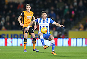 Brighton striker, Tomer Hemed (10) during the Sky Bet Championship match between Hull City and Brighton and Hove Albion at the KC Stadium, Kingston upon Hull, England on 16 February 2016.