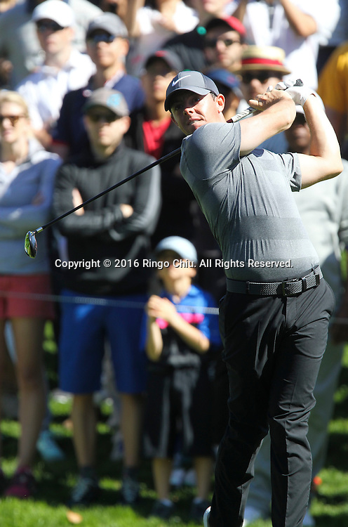 Rory McIlroy plays in the Final Round of the Northern Trust Open at the Riviera Country Club on February 21, 2016, in Los Angeles,(Photo by Ringo Chiu/PHOTOFORMULA.com)<br /> <br /> Usage Notes: This content is intended for editorial use only. For other uses, additional clearances may be required.