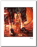 New Orleans Jazz 1983. 11x14 signed archival pigment print free shipping USA