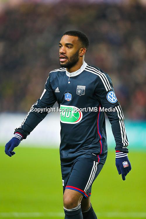 Alexandre LACAZETTE  - 20.01.2015 - Nantes / Lyon  - Coupe de France 2014/2015<br /> Photo : Vincent Michel / Icon Sport