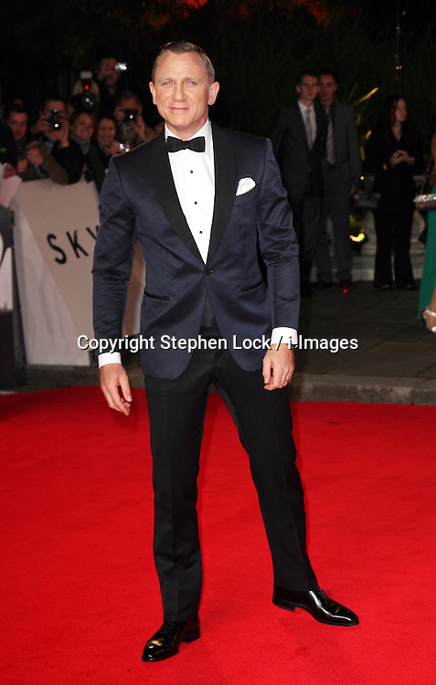 Daniel Craig  arriving for  the world premiere of Skyfall  in London, Tuesday, 23rd October 2012.  Photo by: Stephen Lock / i-Images<br /> File photo - Jude Law NOTW Hacking.<br /> Jude Law is told relative sold story of girlfriend Sienna Miller's affair with Daniel Craig. Picture filed Tuesday, 28th January 2014.