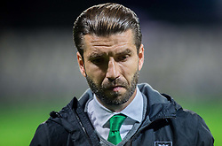 Luka Elsner, head coach of NK Olimpija during football match between FC Luka Koper and NK Olimpija Ljubljana in Round #16 of Prva liga Telekom Slovenije 2016/17, on November 6, 2016 in Stadium Bonifika, Koper/ Capodistria, Slovenia. Photo by Vid Ponikvar / Sportida