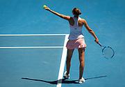Karolina Pliskova of the Czech Republic in action during her quarter-final match at the 2019 Australian Open Grand Slam tennis tournament on January 23, 2019 at Melbourne Park in Melbourne, Australia - Photo Rob Prange / Spain ProSportsImages / DPPI / ProSportsImages / DPPI