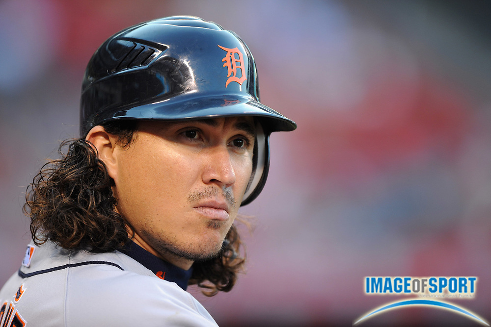 May 28, 2008; Anaheim, CA, USA; Detroit Tigers designated hitter Magglio Ordonez (30) during 6-2 victory over the Los Angeles Angels at Angel Stadium. Mandatory Credit: Kirby Lee/Image of Sport-US PRESSWIRE