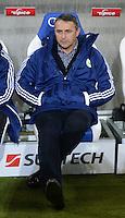 FUSSBALL  1. BUNDESLIGA  SAISON 2012/2013  14. SPIELTAG     TSG 1899 Hoffenheim - VfL Wolfsburg       18.11.2012 Manager Klaus Allofs (VfL Wolfsburg) vor seinem ersten Spiel fuer den neuen Verein auf der Bank