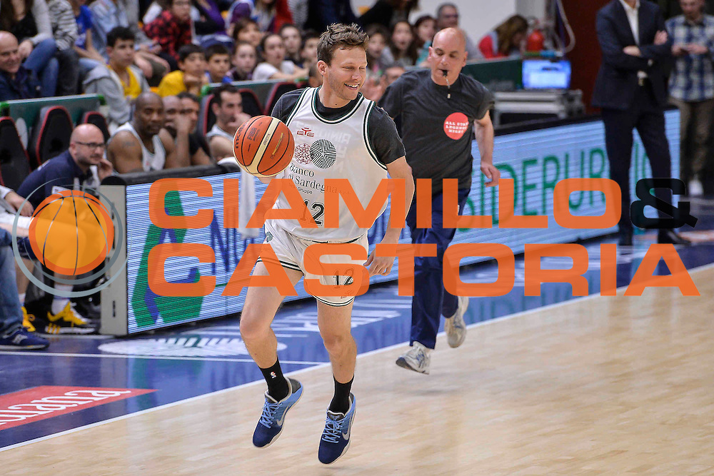 DESCRIZIONE : Dinamo Banco di Sardegna Sassari All Stars Legends Night<br /> GIOCATORE : Travis Diener<br /> CATEGORIA : Palleggio Contropiede<br /> SQUADRA : Dinamo Banco di Sardegna Sassari<br /> EVENTO : Dinamo Banco di Sardegna Sassari All Stars Legends Night<br /> GARA : Dinamo Banco di Sardegna Sassari - Alba Berlino Veterans<br /> DATA : 14/05/2016<br /> SPORT : Pallacanestro <br /> AUTORE : Agenzia Ciamillo-Castoria/L.Canu