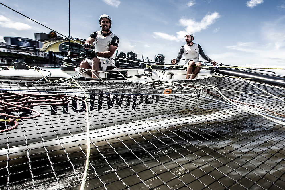 2015 Extreme Sailing Series - Act 5 - Hamburg.<br />