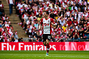 Southampton (23) Pierre-Emile Højbjerg during the The FA Cup match between Chelsea and Southampton at Wembley Stadium, London, England on 22 April 2018. Picture by Sebastian Frej.